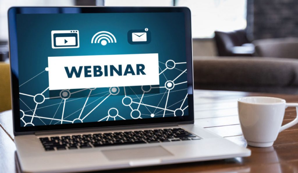 Webinar is a very much used online event platform.
